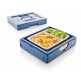 Thermobox Dinner Champion I blau  | 290 mm  x 240 mm  H 105 mm Produktbild
