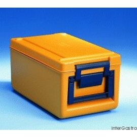 thermoport® TP 1000 KB orange • beheizbar 26 ltr  | 370 mm  x 645 mm  H 308 mm Produktbild