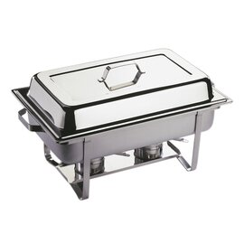 Chafing Dish GN 1/1 ECONOMIC abnehmbarer Deckel 9 ltr  L 610 mm  H 300 mm Produktbild